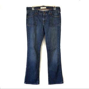 GAP Lowest Rise Boot Cut Jeans